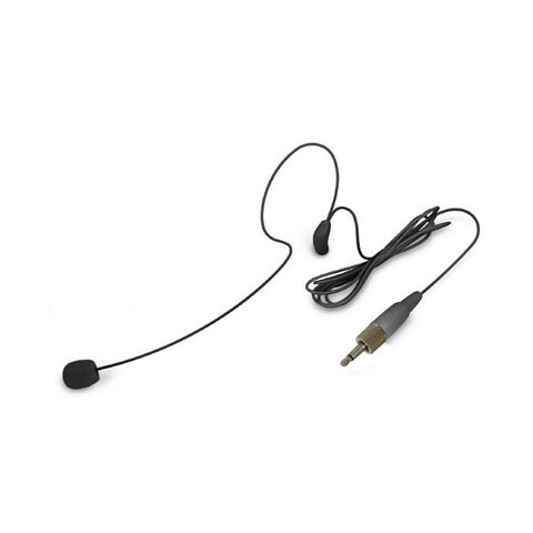 Nady HM-45U Uni-Directional Condenser Headset Microphone 3.5mm locking - Black
