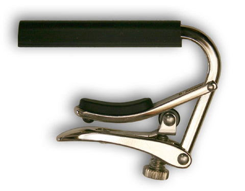 Shubb Capos C2 Standard Polished Nickel Nylon String Guitar Capo