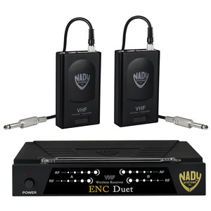 Nady ENC DUET Wireless Dual Channel Instrument / Guitar System
