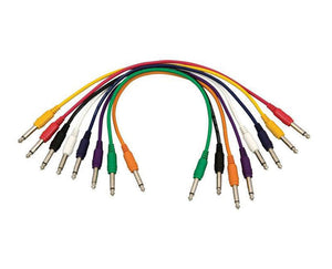 Hot Wires PC18-17QTR-S Straight Patch Cables (QTR-QTR, 8-pack)