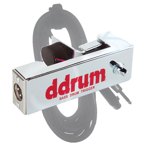 ddrum Chrome Elite Acoustic Drum Trigger Bass/Kick Drum with Cable