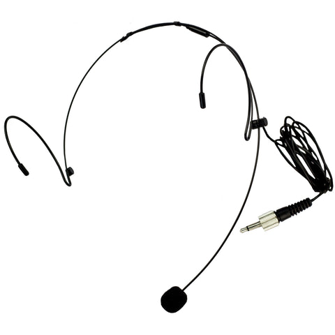 Nady HM-10 Headworn Omnidirectional Microphone - 3.5mm Black