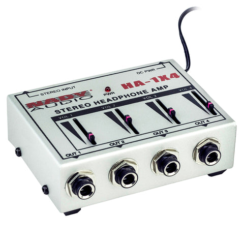 Nady HA-1X4 Four Channel Stereo Headphone Monitor Amp