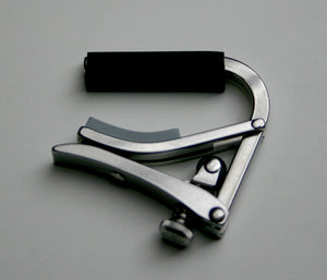 Shubb Capos S5 Deluxe Stainless Steel Banjo/Mandolin Capo