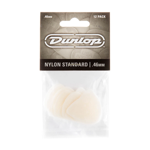 Image of Dunlop 44P046 Nylon Standard Player's 12-Pack Guitar Picks