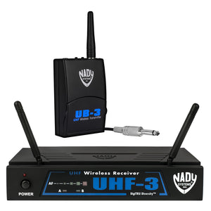 Nady UHF-3 Wireless Instrument / Guitar System