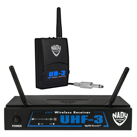 Image of Nady UHF-3 Wireless Instrument / Guitar System