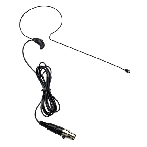Nady HM-35 Omnidirectional Headworn Condenser Microphone - Mini-XLR Black