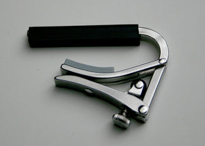 Shubb Capos S2 Deluxe Stainless Steel Nylon String Guitar Capo
