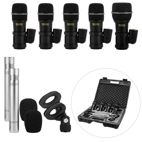 Image of Nady DMK-7 Seven Piece Drum Microphone Kit