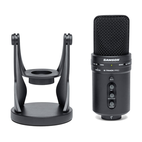 Image of Samson G-Track Pro Professional USB Microphone with Audio Interface