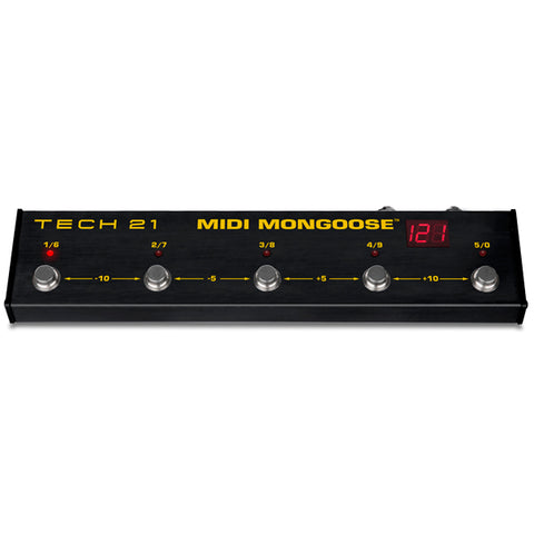 Tech 21 MIDI Mongoose MIDI Foot Controller