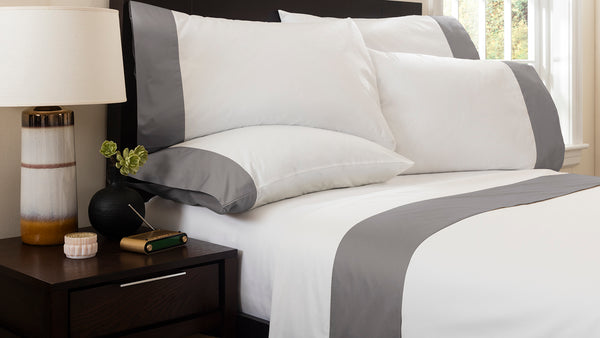 MONTE CARLO BANDED FLAT SHEET