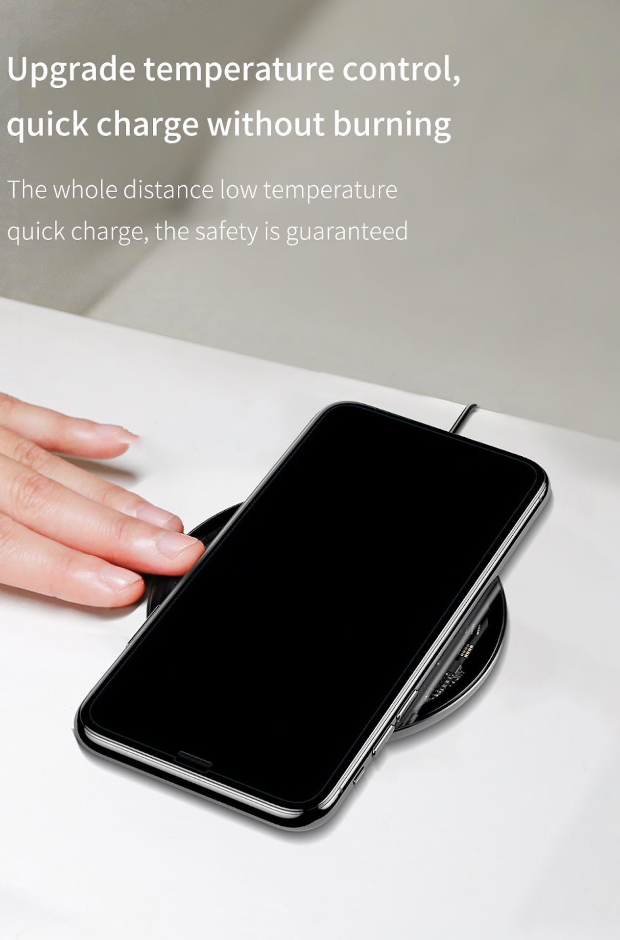 10w Baseus Simple Qi Wireless Charger for iPhone, Samsung