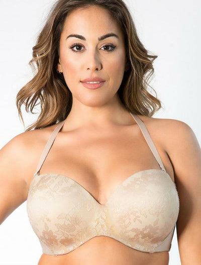 Curvy Couture Strapless Sensation Multi-Way Push Up