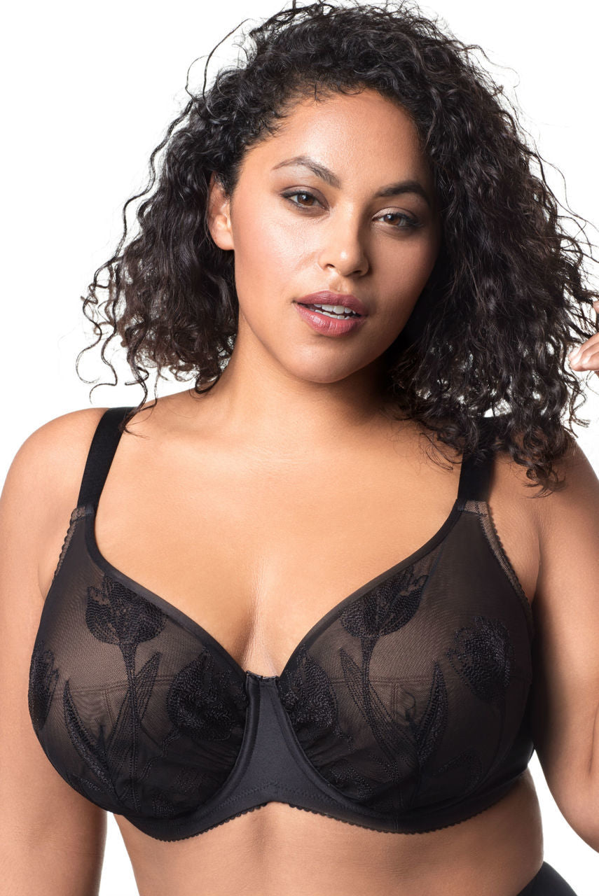 Elila Tulip Embroidered Underwire