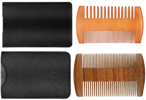 Dual Action Beard Comb
