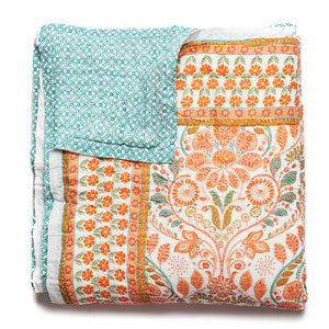 Rosy Picture - Quilt - Reversible