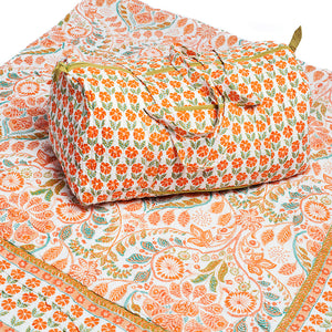 Rosy Picture - Quilt and Weekender Bag