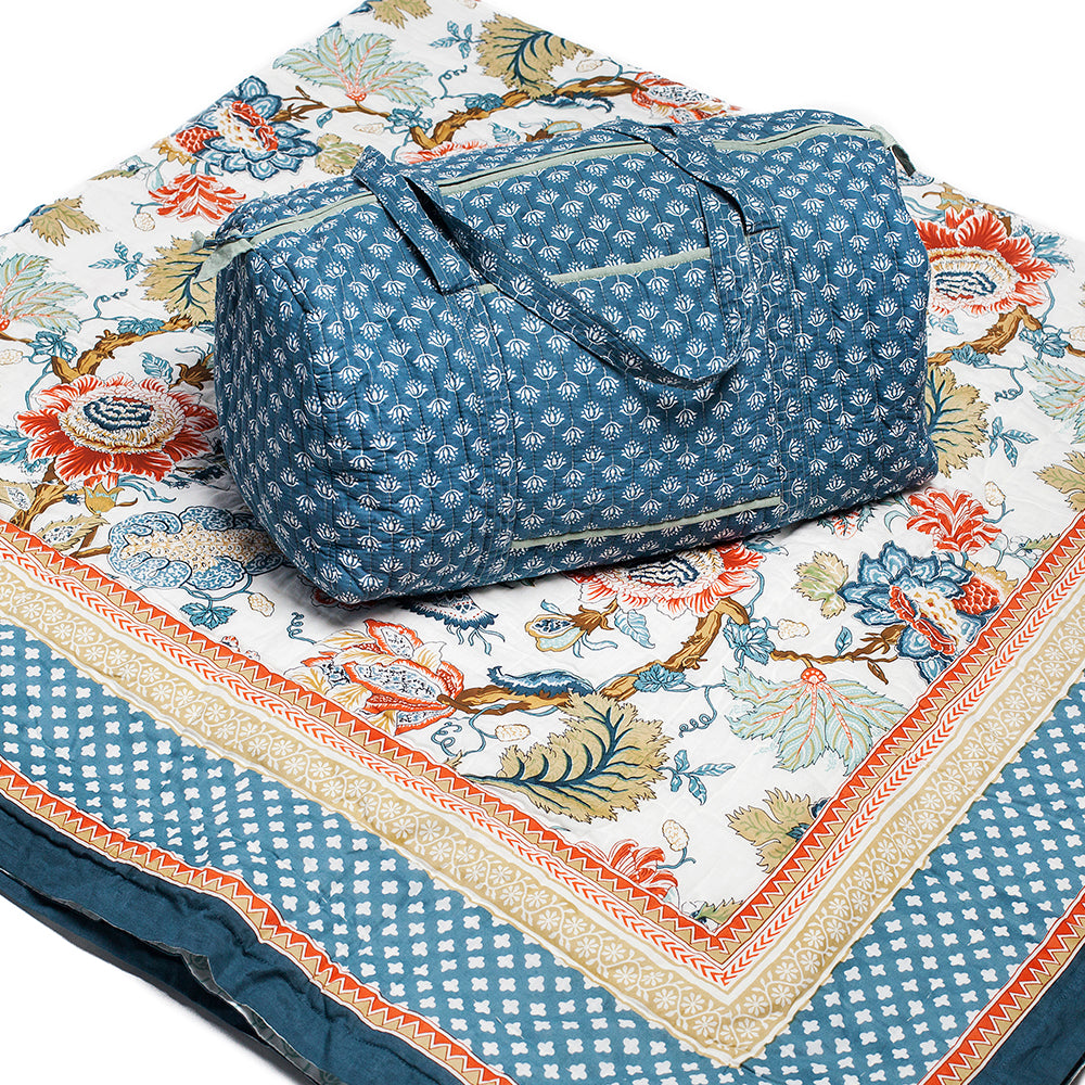 Eden Picture - Quilt and Weekender Bag
