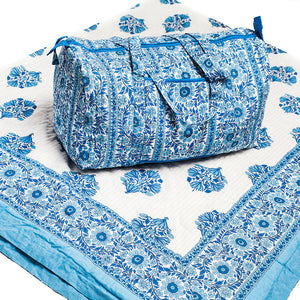 Cole Picture - Quilt and Weekender Bag