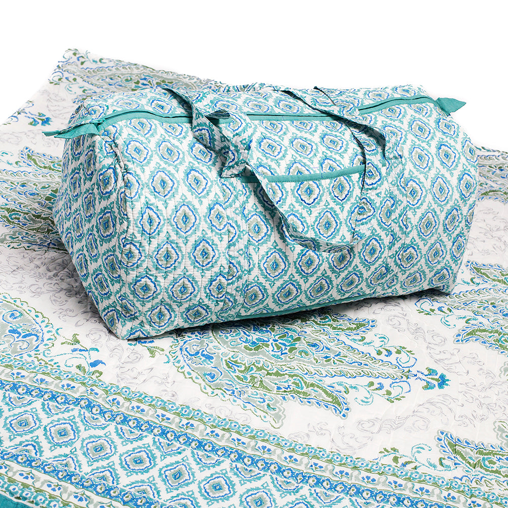 Myra Picture - Quilt and Weekender Bag