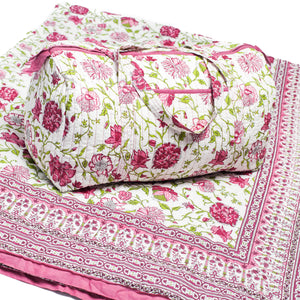 Lyla Picture - Quilt and Weekender Bag