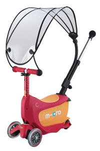 Mini2go Deluxe Plus Canopy Rubin Red