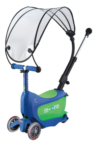 Mini2go Deluxe Plus Canopy Crystal Blue