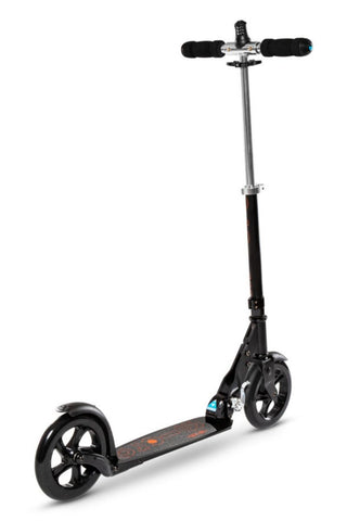 Scooter Micro Black & White Interlock