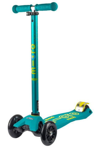 Scooter Maxi Micro Deluxe Verde Petroleo