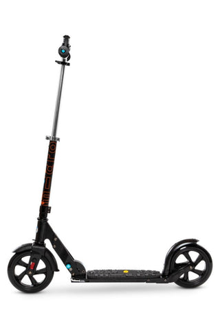 Image of Scooter Micro Deluxe Black & White