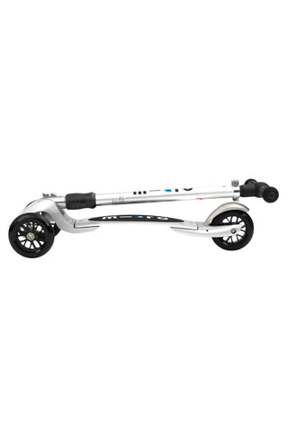 Image of Scooter Micro Kickboard Compact Plateado / Silver