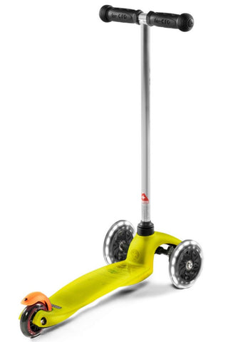 Image of Scooter Mini Micro Classic LED Amarillo