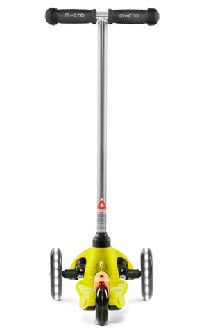 Scooter Mini Micro Classic LED Amarillo