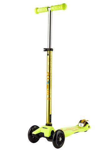 Image of Scooter Maxi Micro Deluxe Amarillo
