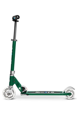 Image of Scooter Micro Sprite LED Verde Bosque