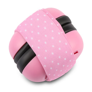 Pair of Infant Baby Anti-noise Earmuffs Elastic Strap Ear Protection