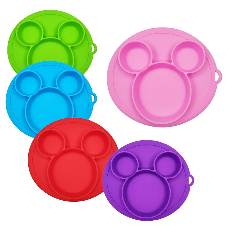 Baby Safe Silicone Dining Plate