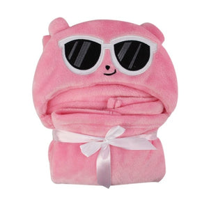 Cute Baby Bath Towel Baby Hooded Bathrobe Baby Blanket Baby Towels Animal Shape Hooded Towels K08