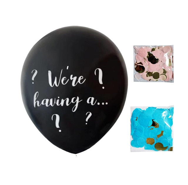 36 inch  We're having a... Gender Reveal latex balloon