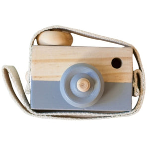 Lovely Wooden Camera Toys For Baby/Kids Room Decor