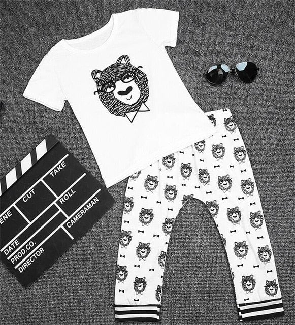Little Boy 2 piece PJ Set