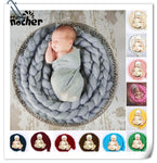 Baby Photography Props Roving Yarn Twist Blanket