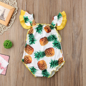 Summer Cute Pineapple Swimsuit