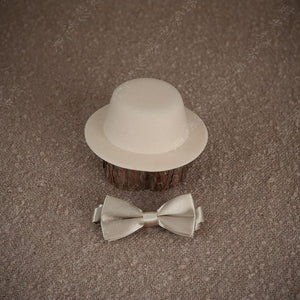 Little Boy Hat and Bow Tie