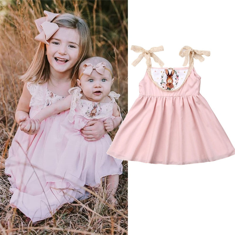 Little Easter Bunny Dress Newborn-24 months