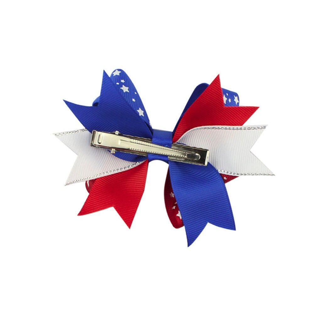 Little Girl 4th of July Bow