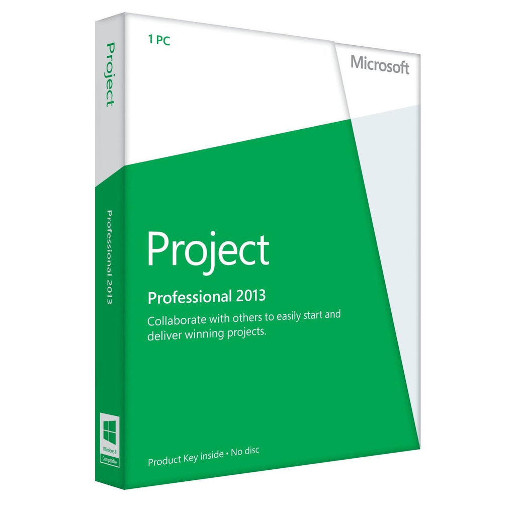 Microsoft Project 2013 Professional D1