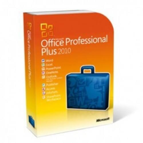 Microsoft Office 2010 Professional Plus A1